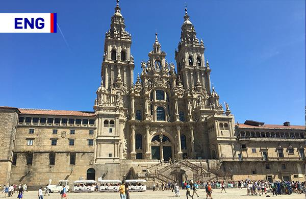 SANTIAGO WITH GUIDE<BR>Guided tour on May 1st through the historic centre of Compostela